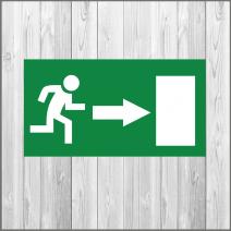 эвакуационная табличка изготовление