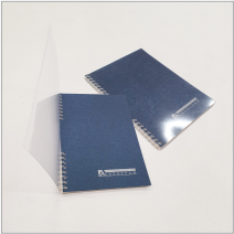 Блокноты с передней прозрачной обложкой