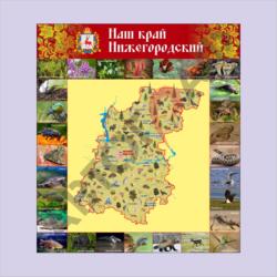 № 69 Нижегородский край размер 800 х 900 мм