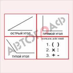 Математика № 03 размер 420х300мм_4шт